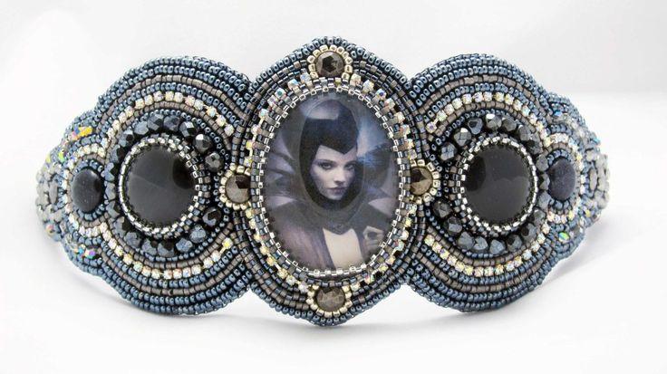 Maleficent Bracelet from Designs by Mana on Beadfeast