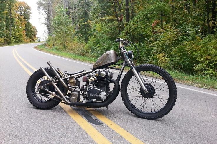 yamaha rat bike bikes bobber motorrad chopper. Black Bedroom Furniture Sets. Home Design Ideas
