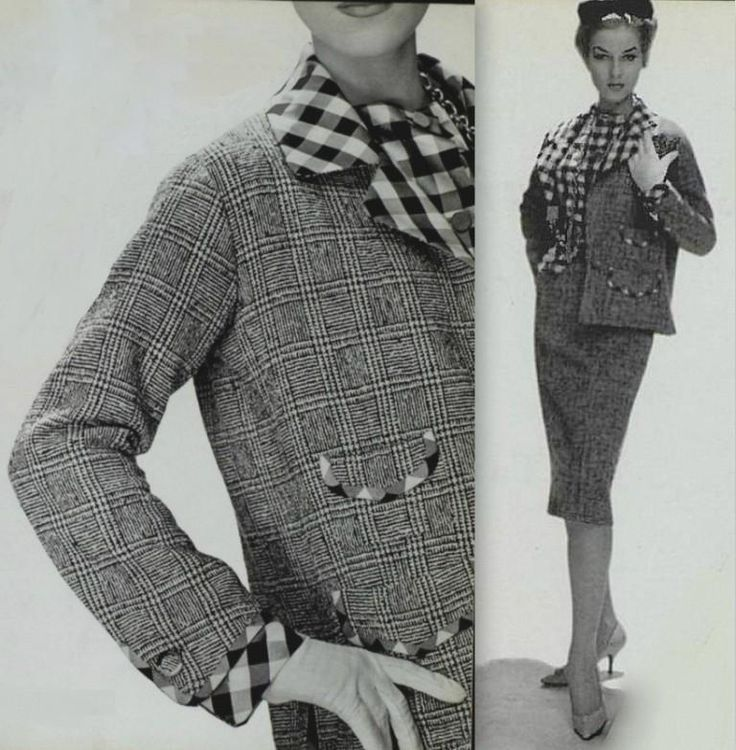 21 Best 1950's Chanel Images On Pinterest