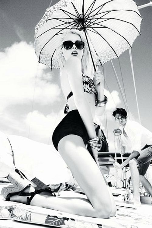 Amber Heard photographed by Ellen von Unwerth