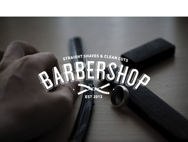 The Barbershop by Vizinno , via Behance