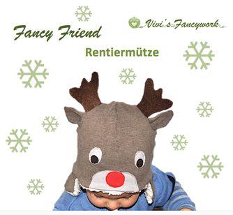 FREEBOOK: Ein Rentier für die Weihnachtszeit KU 37-58 cm