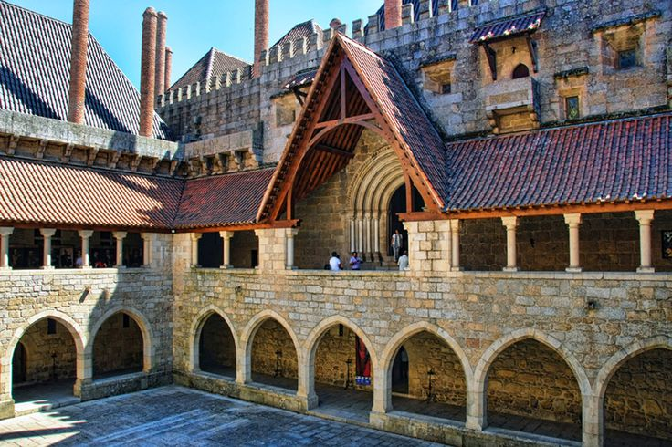 A tale to be told by #ToursandTales at Braganza Ducal Palace, Guimarães.