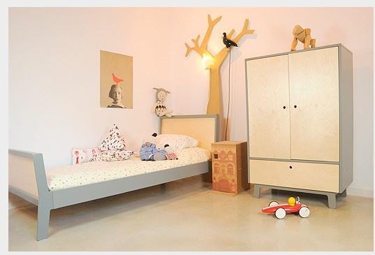 a sweet sparrow bedroom...  #oeufnyc #kidsroom #kids