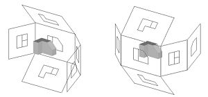 Orthographic drawing ( first and third angle projection) || Inka Anggraeni • kelompok 3 kelas 1
