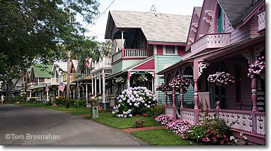 Victorian Camp Cottages on Cape Cod  all the pretty little painted Ladies