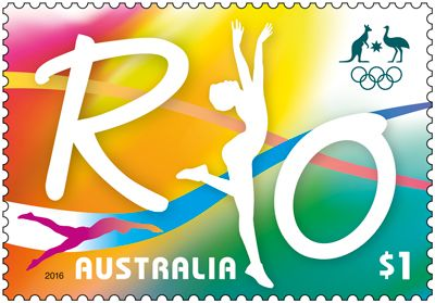The Road to Rio stamp is released today, to commemorate the Australian team of around 400 elite athletes arriving at the Games of the XXXI Olympiad. Purchase in-store or online: http://auspo.st/2at9DnS   #OneTeam #Philatelic #AustralianStamps