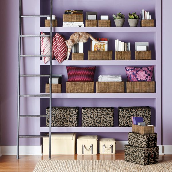Stylish storage you'll want to show off! Our Kiva Bins are right at home in the living room, den or home office for attractive, concealed storage of everything from magazines to toys.