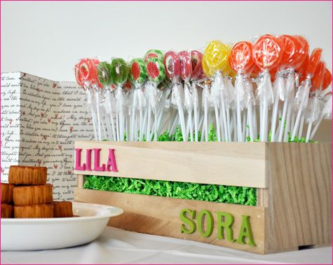 contemporary Dol - traditional Korean first birthday party LolliPop Garden