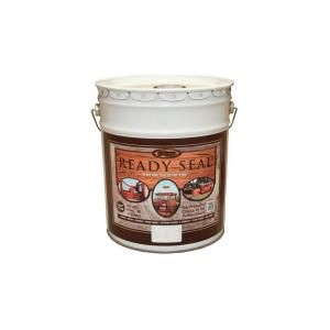 READY SEAL, 5-gal. Natural Cedar Exterior Wood Stain and Sealer, 512 at The Home Depot - Mobile