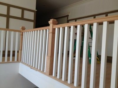 Wood Baluster | 25 Square Wood Balusters
