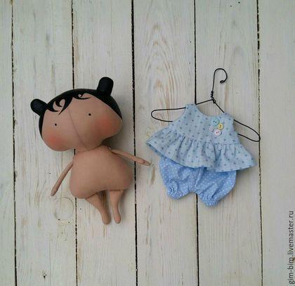 Куклы Тильды ручной работы. Ярмарка Мастеров - ручная работа. Купить Малышка Sweetheart Doll. Handmade. Мятный, кукла Тильда