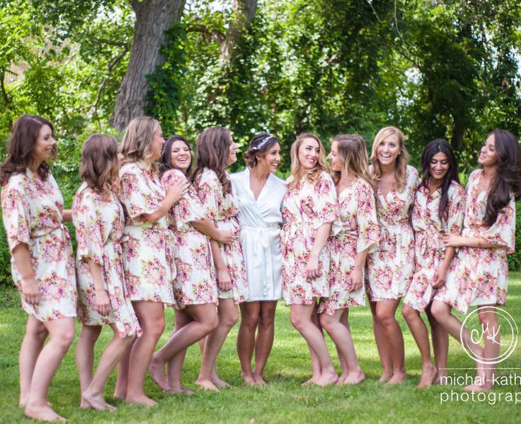 bridesmaid robes cheap unique bridesmaid gifts cotton kimono bridal shower gift Bridal Party Robes Not set of 11 IN001 by ForBride on Etsy https://www.etsy.com/in-en/listing/246001816/bridesmaid-robes-cheap-unique-bridesmaid