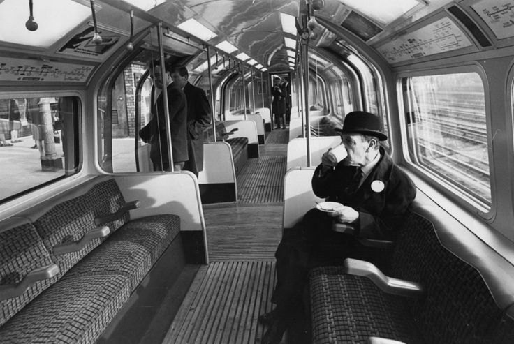 1968: Tea on the Tube. London