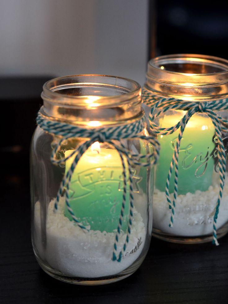 DIY: Mason jar kaarsen - My Simply Special