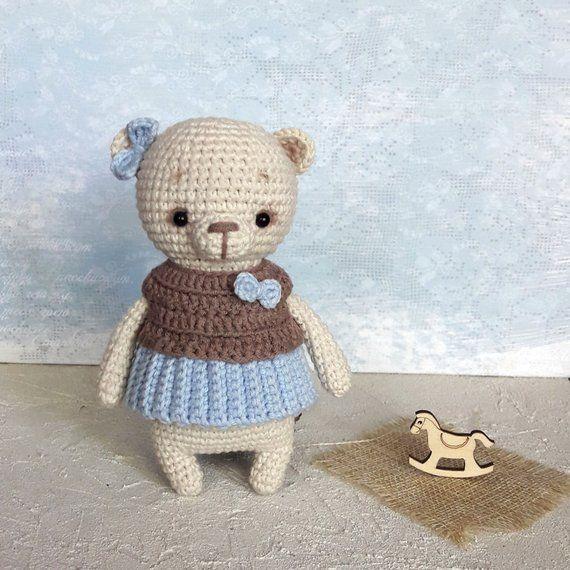Amigurumi pattern Crochet Bear pattern Crochet pattern amigurumi teddy bear croc…