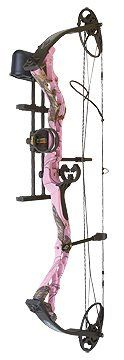 Diamond by Bowtech Infinite Edge 13-303; Mossy Oak Pink Camo with Package. Get this awesome Deal at http://pinkcamo.net/IOHHs Like us on Facebook at -www.facebook.com/pinkcamoshop