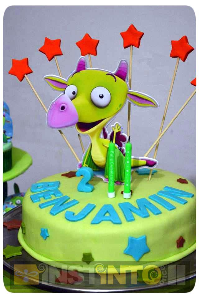 Torta de cumpleaños monstruo