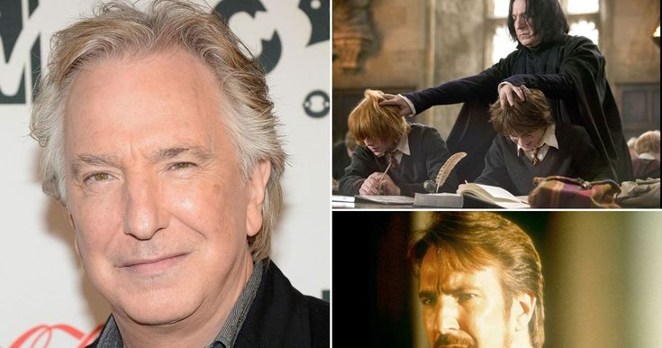 The much-loved actor first shot to stardom when he played Hans Gruber, Bruce Willis's adversary, in Die Hard and gained legions of fans as Professor Severus Snape in the Harry Potter films