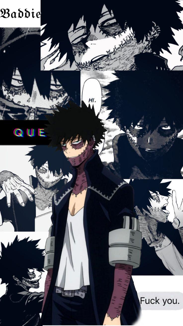 dabi aesthetic anime background anime wallpaper