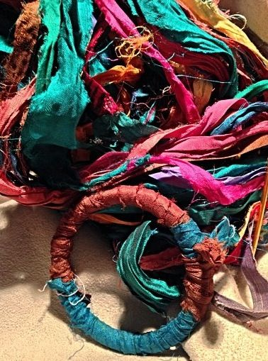 Bangles and Sari Silk