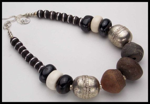 ANCIENT SPINDLE WHORLS  A Piece of African by sandrawebsterjewelry, $299.00