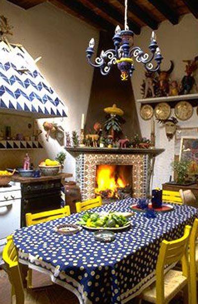 Кухни в мексиканском стиле - современная интерпретация.