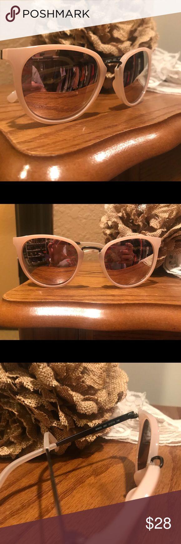 NWOT Calvin Klein Sunglasses for Women! Beautiful cateye light pink sunglasses. NWOT. Never been worn. Calvin Klein Accessories Sunglasses