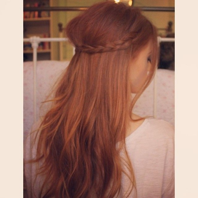 Ms Rosie Bea...a young YouTuber with beautiful natural red hair.