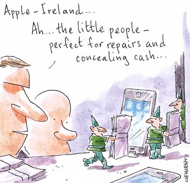 How Ireland got Apple's $9bn profit