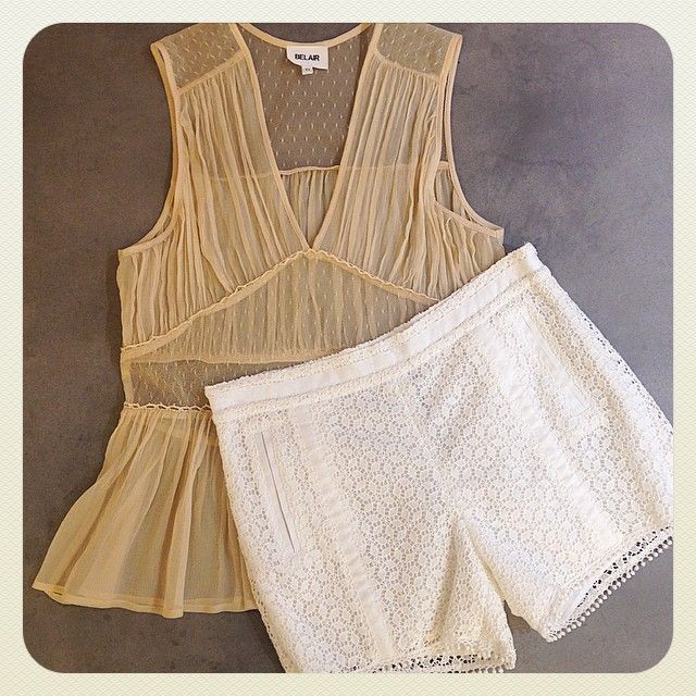 #Top #Tatienne #silk #sable #short #Sopra #lace #pompon #Lookdujour #outfit #summertime #ss15 #boho #chic #belair #belairparis. Top disponible ici: http://www.belair-paris.fr/top-tatienne.html#.VSuibJPAqwk Short disponible ici: http://www.belair-paris.fr/short-sopra.html#.VSuiUJPAqwk