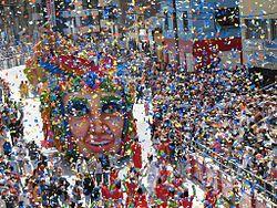Desfile Magno del Carnaval de Negros y Blancos.
