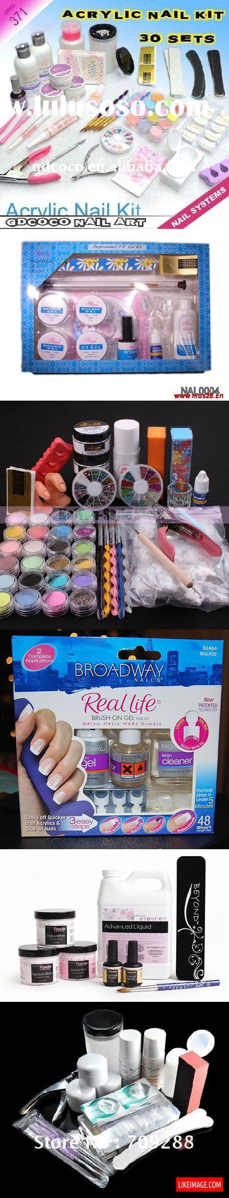 Acrylic nail kits - 8 PHOTO!