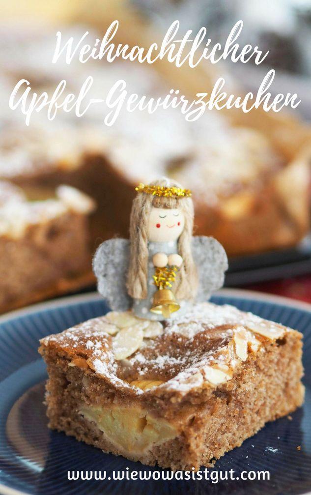 Wie wäre es mit einem leckeren weihnachtlichen, winterlichen Apfel-Gewürzkuchen mit ganz viel Zimt, Vanille, Spekulatius-und Lebkuchengewürz? In 3 Minuten angerührt und irre fluffig und lecker. Perfekt für den Kaffeetisch in der Weihnachtszeit. Meine Kinder sind verrückt danach und haben den Kuchen liebevoll Familienkuchen getauft. #weihnachten #kuchen #zimt