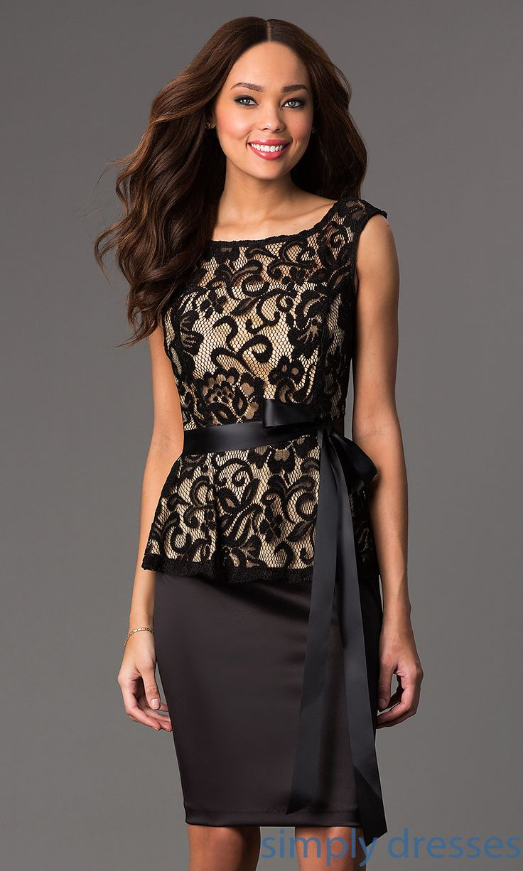 1000 images about clothes formal semi formal wear on for Peplum dresses for wedding guest