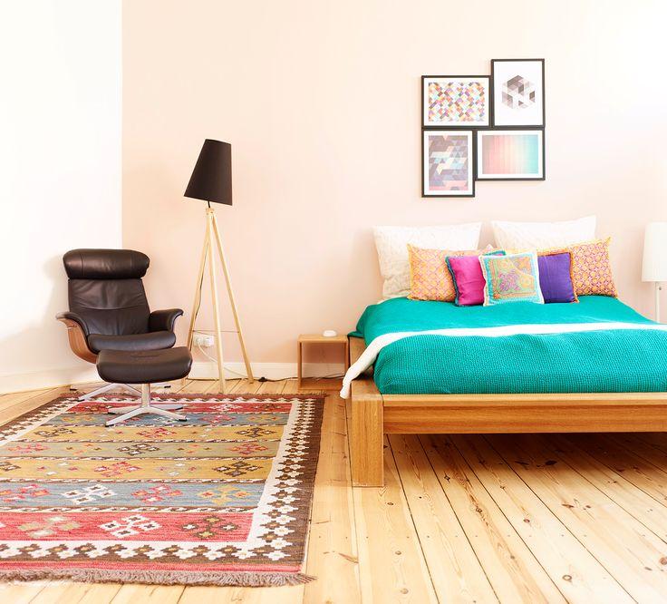 Edles Massivholz für einen natürlichen Schlaf – unser Futon-Bett Amorgos.