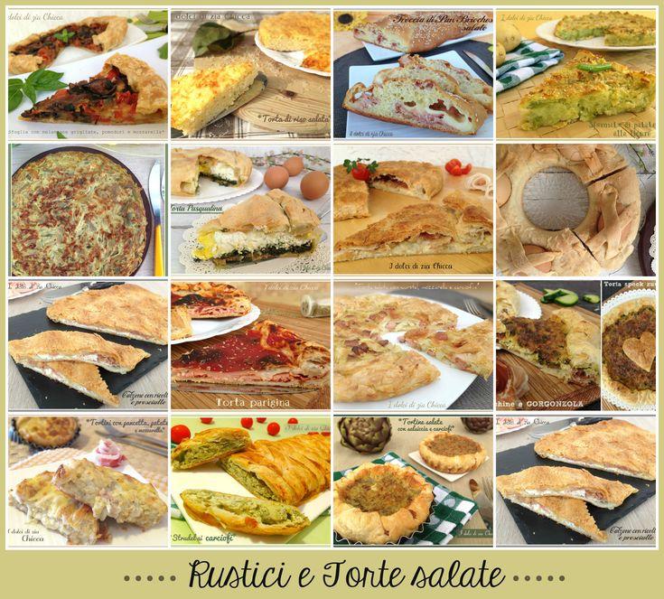Rustici e torte salate ricette in PDF