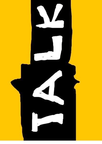 'Talk' by Petros Vasiadis on artflakes.com as poster or art print $20.79