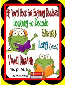 Packed into one big bundle are my three individual books:   Beginning Reading -- Short Vowels  Beginning Reading -- Silent e  Beginning Reading -- Vowel Digraphs This is a Big Savings!--- All in OneTo build success, each lesson is developed with an introduction, practice, and extra practice exercises.