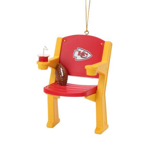 Kansas City Chiefs Stadium Chair Ornament - $11.99