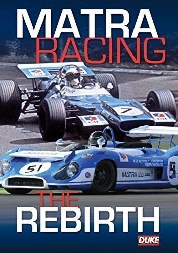 Matra Racing The Rebirth Dvd 85 Mins Duke 3736nv Dukevideo