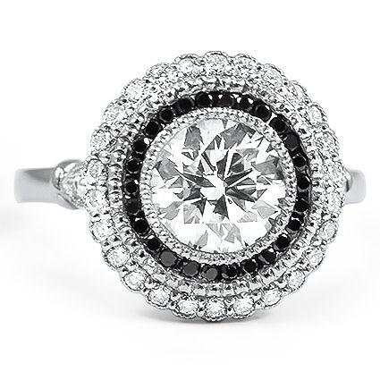Black Diamond Bella Ring
