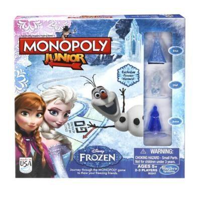 Monopoly junior Reine Des Neiges de Hasbro Réf : B2247 moins cher en ligne. Age : 5 ans  Comparez son prix chez 6 vendeurs en ligne .