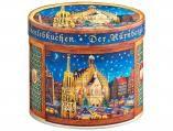 Christkindlesmarkt Elisen-Dose   Nürnberger-Lebkuchen   Lebkuchen-Dosen   Lebkuchen Schmidt 7,30 Eur.  Tin for Pyramiden candles!