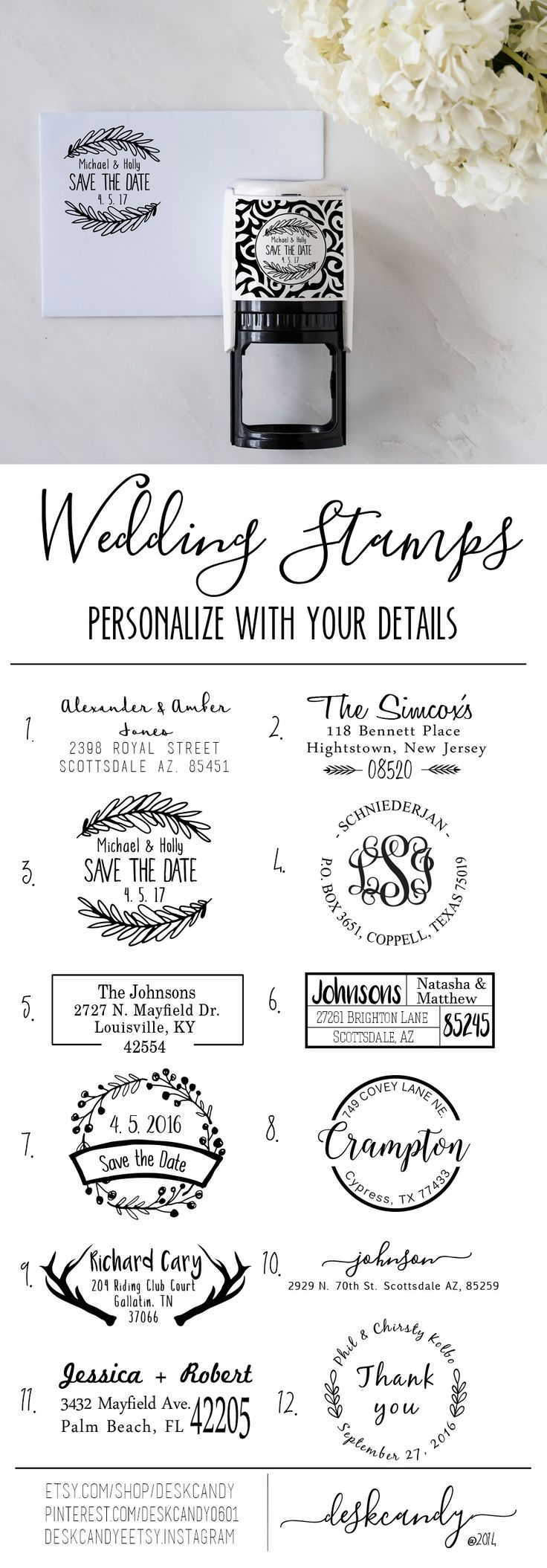 wedding stamps wedding stamps Rustic Wedding Stamp Wreath Wedding Address Stamp Wreath Address Stamp Self Inking Address Stamp Wedding Invitaitons Personalized Stamp