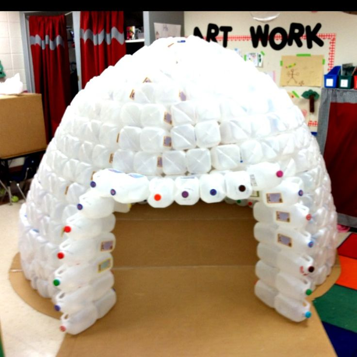 milk jug igloo and totally awesome indoor forts
