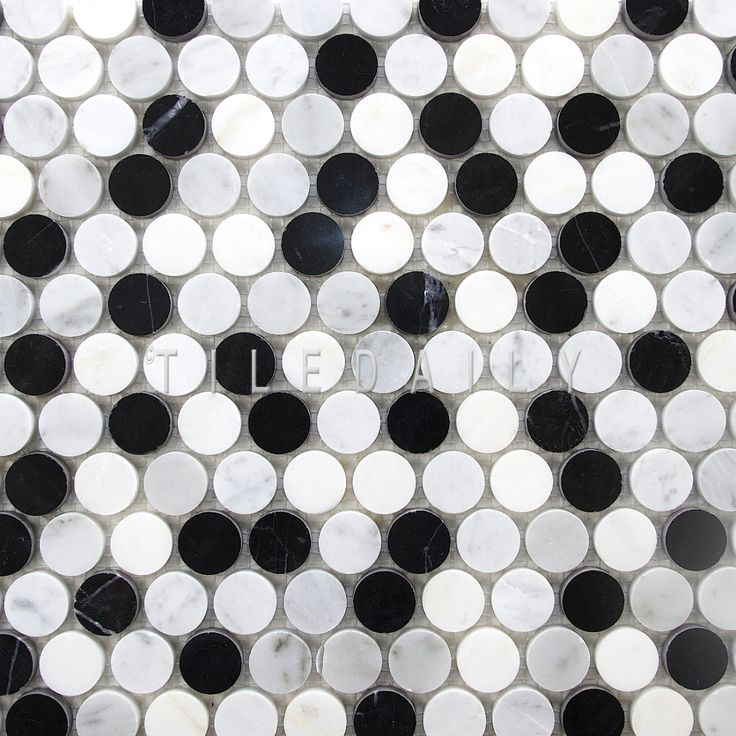 Penny Round Backsplash: 28 Best Ideas About Penny Round Mosaic Tiles On Pinterest