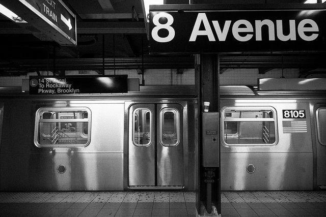 NYC subway, April 2013 (by Freek Nijenhuis)
