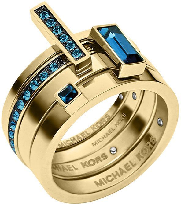 Michael Kors Golden Montana Stone Stackable Rings Set on shopstyle.com  I'm not into rings, but this one-I like. $115 -ouch