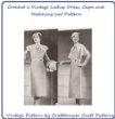 Kindle Crochet Pattern Crochet a Matching Ladies Dress, Cape and Hat Pattern
